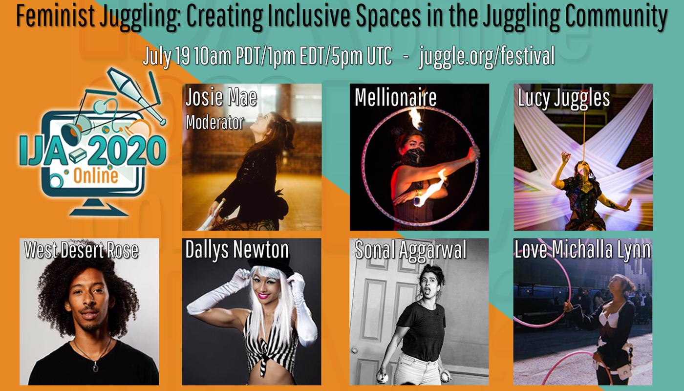 Feminist Juggling - Circus Events - CircusTalk