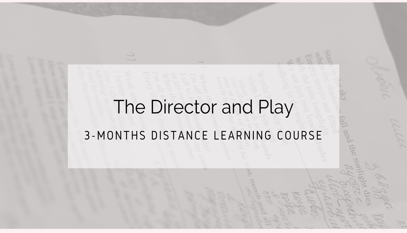 """""""The Director and Play"""" – 3-Months Online Course  - Circus Events - CircusTalk"""