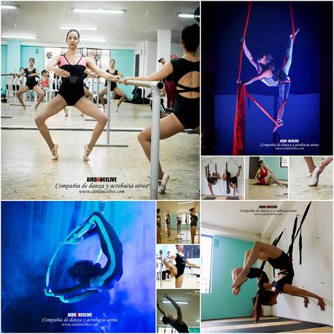 Entrenamientos Permanentes De Danza Y Acrobacia Aérea - Circus Events - CircusTalk