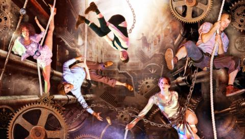Relentless Unstoppable Human Machine - Circus Events - CircusTalk