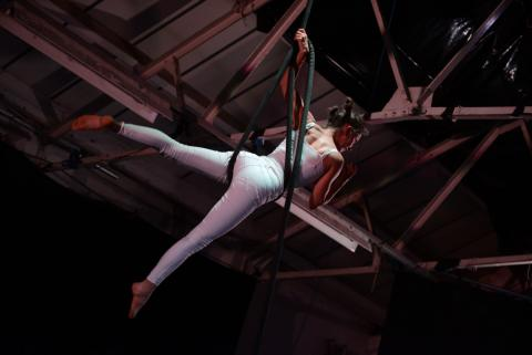 Aerial Intro Rope Workshop with Claire Crook (Madam Mango) - Circus Events - CircusTalk