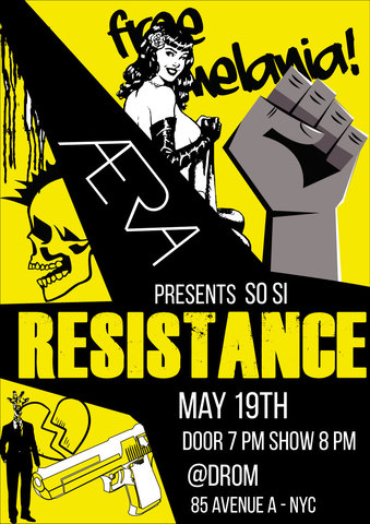 "ÆRA Presents ""So Si: Resistance"" - Circus Events - CircusTalk"