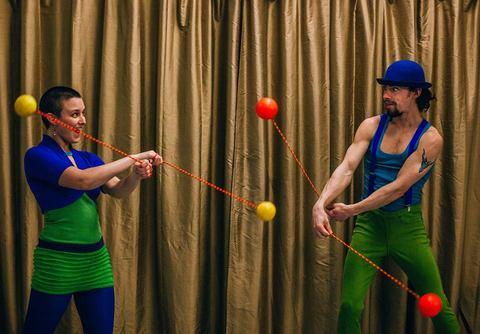 Circus Skills Lab Weekend with Cirque Movement - Circus Events - CircusTalk