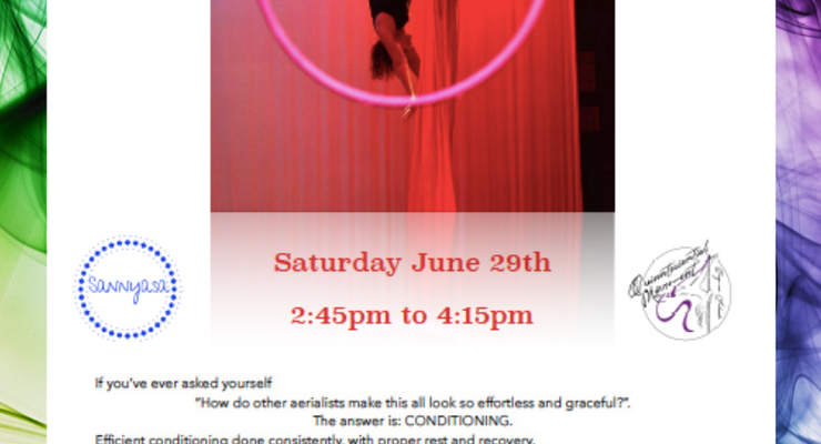 Conditioning Workshop for Aerialists  - Circus Events - CircusTalk