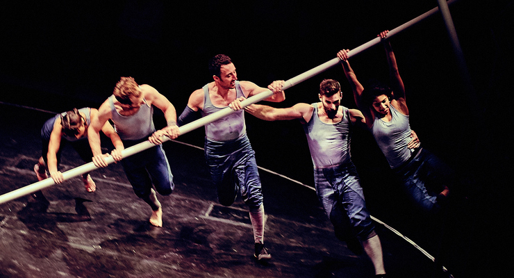 Tipping Point – Ockham's Razor, produced by Turtle Key Arts - Circus Events - CircusTalk