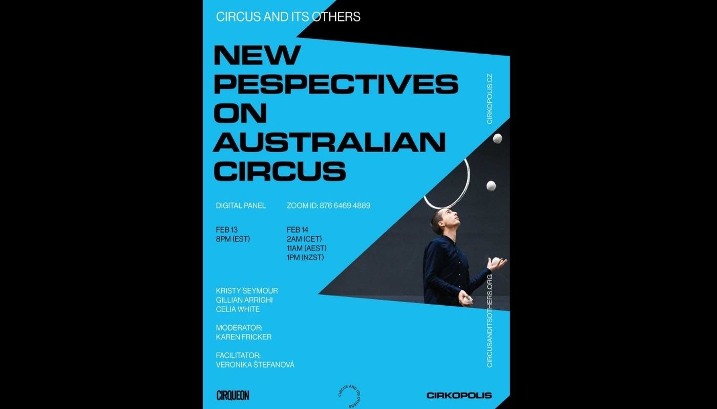 New Perspectives on Australian Circus - Circus Events - CircusTalk