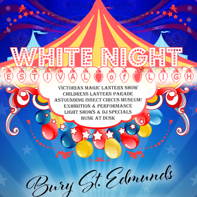 White Night: Festival of Light - Circus Events - CircusTalk