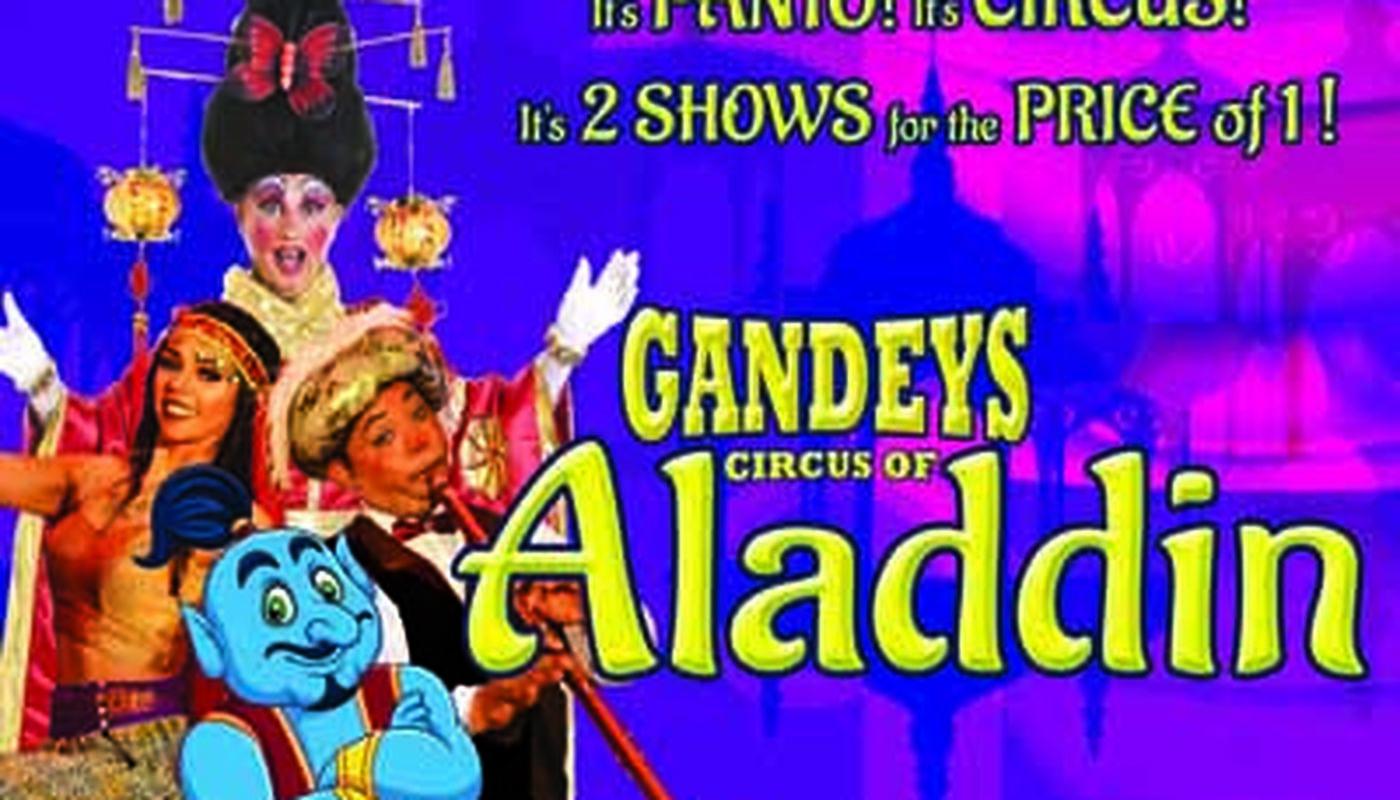 GANDEY'S CIRCUS OF ALADDIN The Theatre Big Top   - Circus Events - CircusTalk