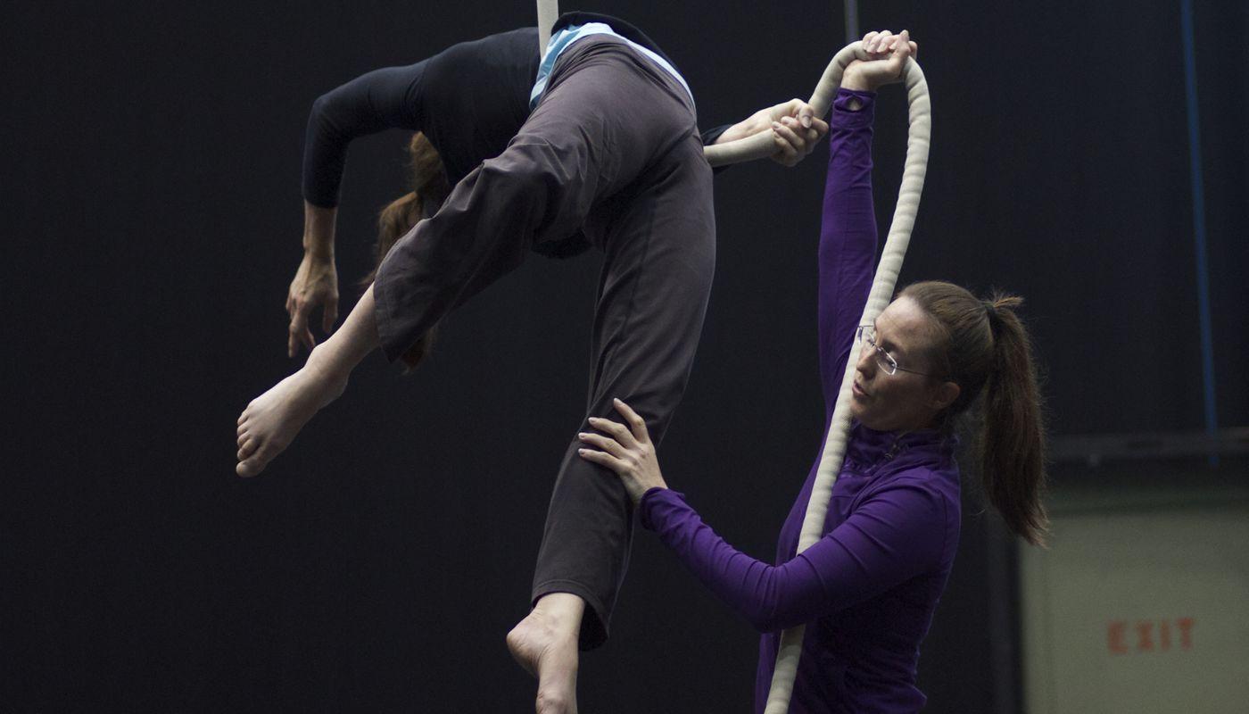 Introduction to Teaching Aerials - Circus Events - CircusTalk