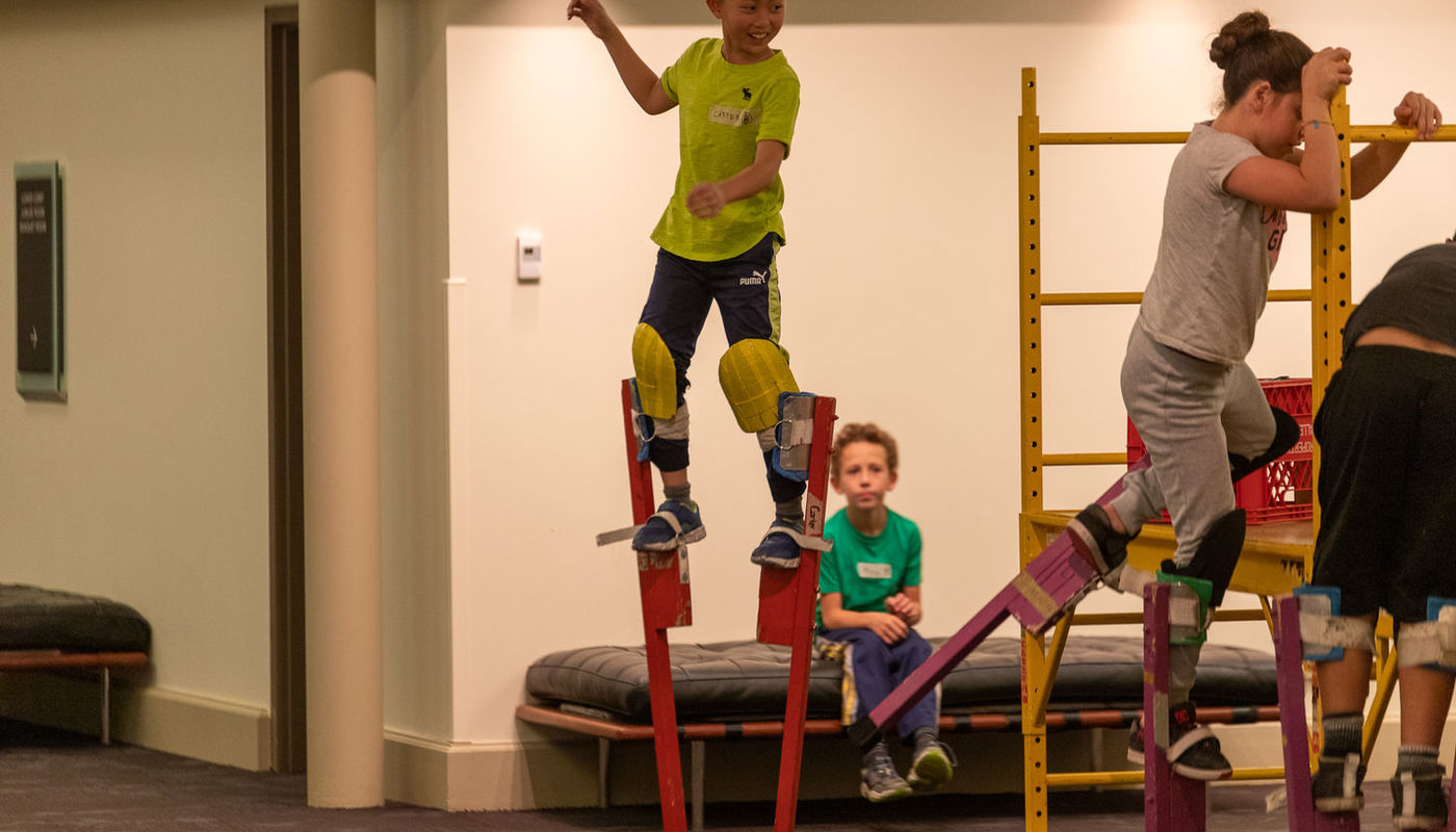 Beginner Circus and Aerial Camp (Ages 10-13) - Circus Events - CircusTalk