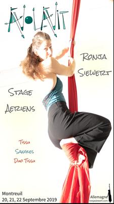 Aerial workshop : silks, duo silks, straps - Circus Events - CircusTalk