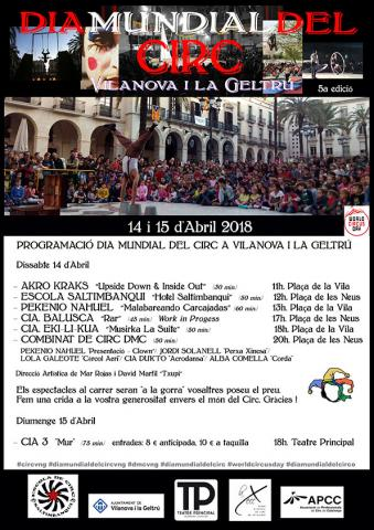 World Circus Day in Vilanova i la Geltrú (Spain) - Circus Events - CircusTalk