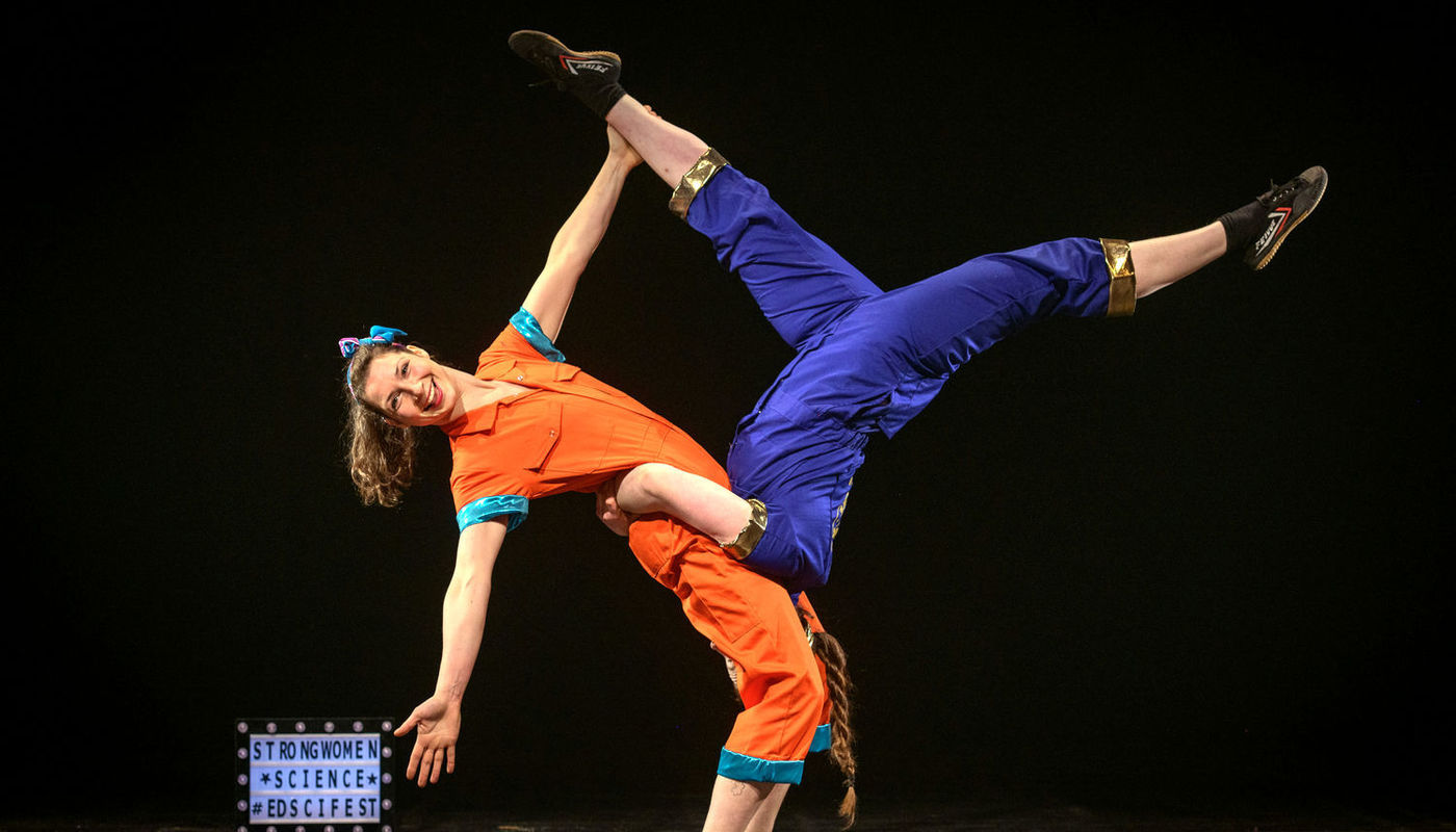 CANCELLED StrongWomen Science at Leanbh Children's Festival - Circus Events - CircusTalk