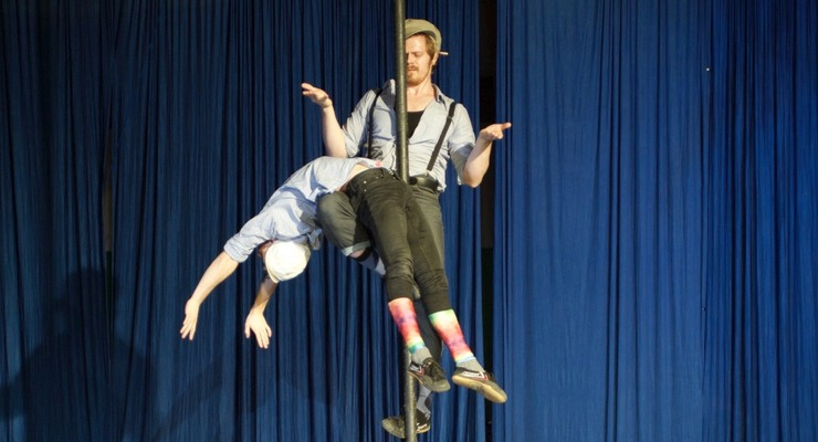Partnering on the Chinese Pole - Circus Events - CircusTalk