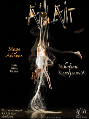 Aerial acrobatics workshop : silks, rope, hamoc - Circus Events - CircusTalk