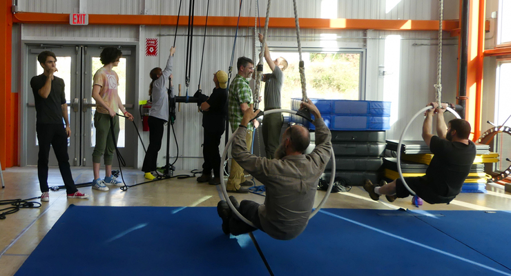Rigging & Risk Management for Aerial Acrobatics, Circus & Dance - Circus Events - CircusTalk