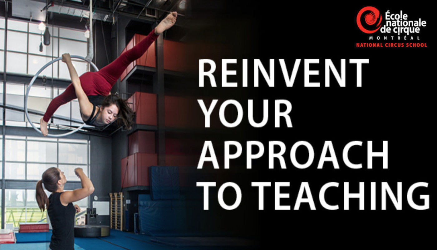 E-Learning Teacher Training Programs - National Circus School - Circus Events - CircusTalk