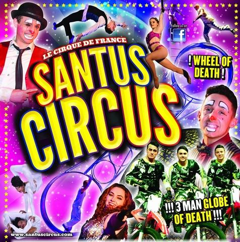 Santus Circus - Le Cirque de France - Circus Events - CircusTalk