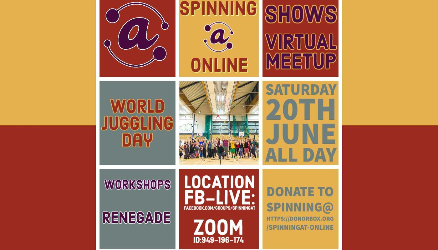 Spinning @ World Juggling Day - Circus Events - CircusTalk