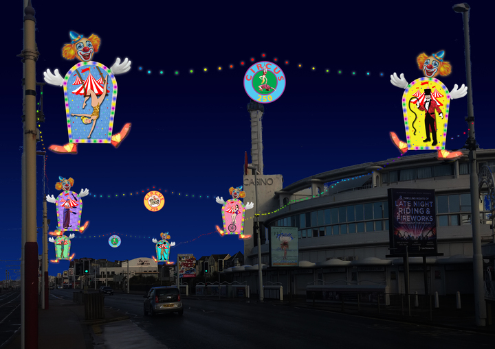 Blackpool Illuminations and LightPool - Circus Events - CircusTalk