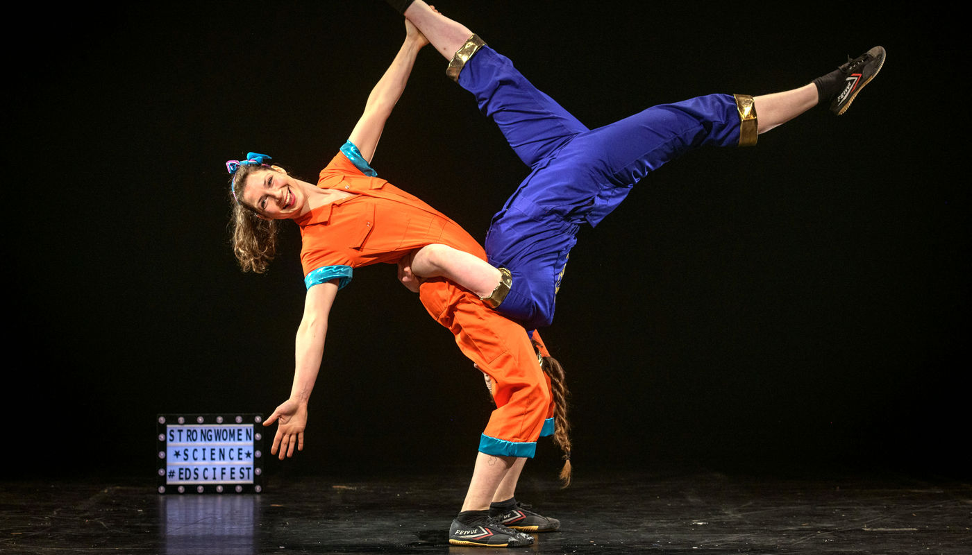 StrongWomen Science at Stockwood Discovery Centre - Circus Events - CircusTalk