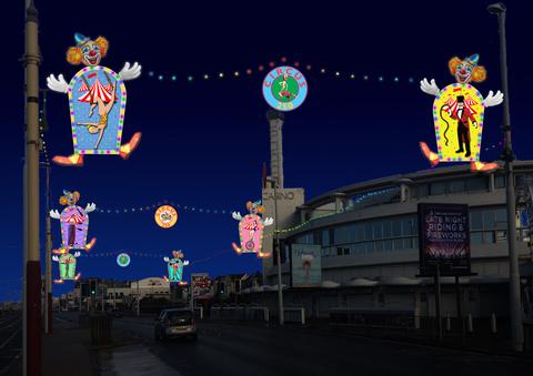 Blackpool Illuminations Switch-on - Circus Events - CircusTalk