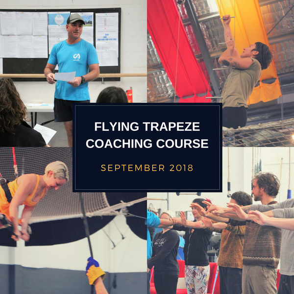 Flying Trapeze Coaching Course - Stage 2 - Circus Events - CircusTalk