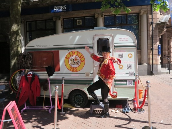Circus250 Caravan - Circus Events - CircusTalk