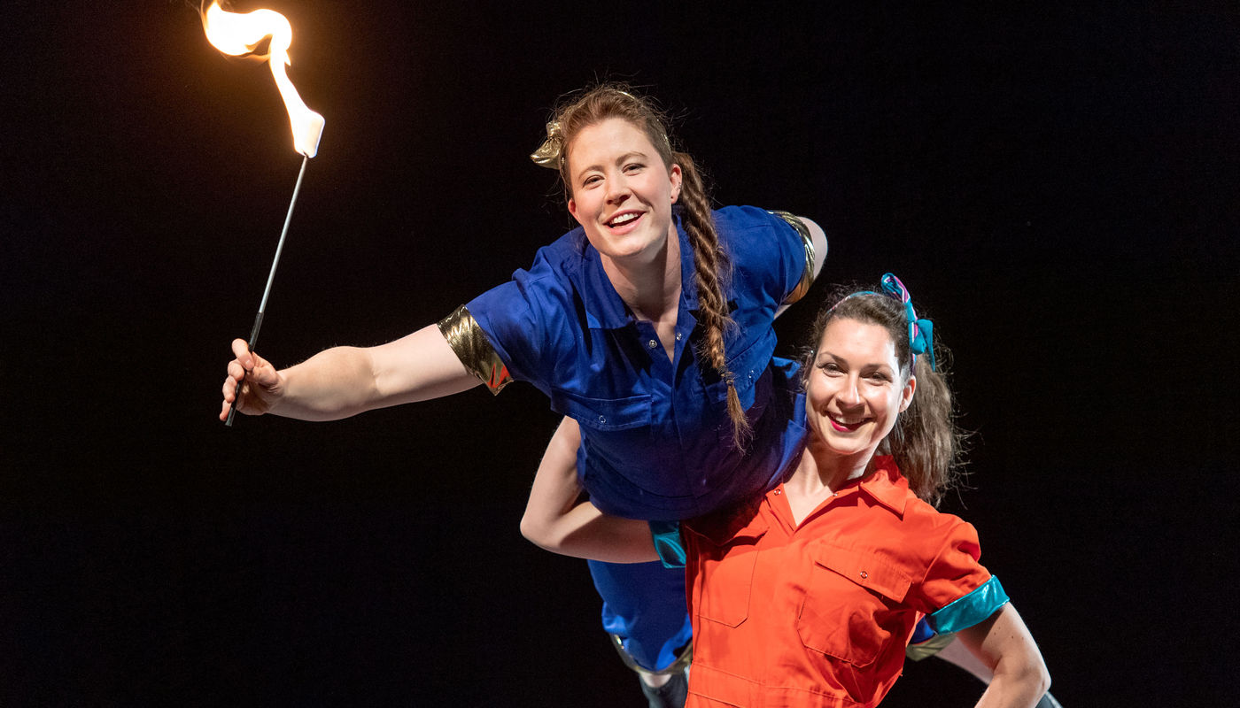 StrongWomen Science at St Patrick's Festival Dublin - Circus Events - CircusTalk