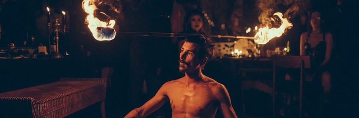 Ed mondo fire dance  - Circus Acts - CircusTalk
