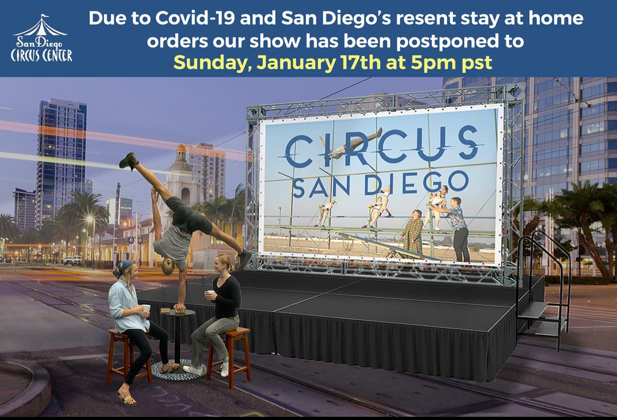 Circus San Diego  (Virtual Presentation) - Circus Events - CircusTalk