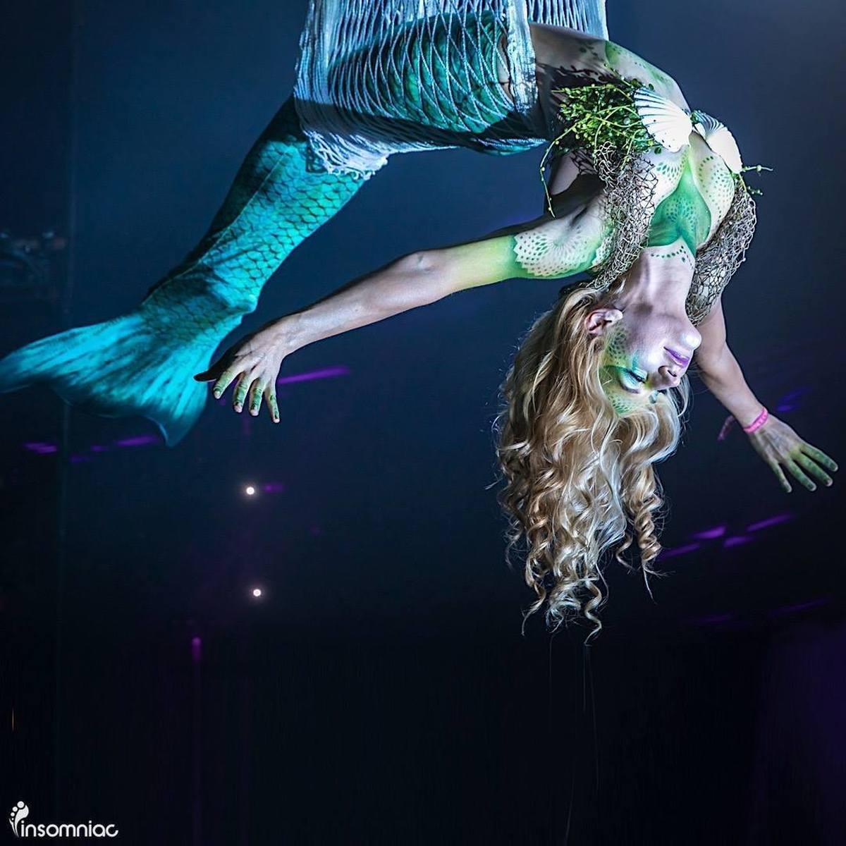 Mermaid In a Net