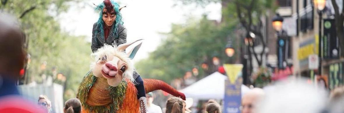 Giant puppet - Waykaru - Circus Acts - CircusTalk