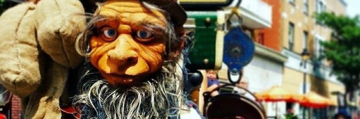 Human puppet - Aroldo - Circus Acts - CircusTalk