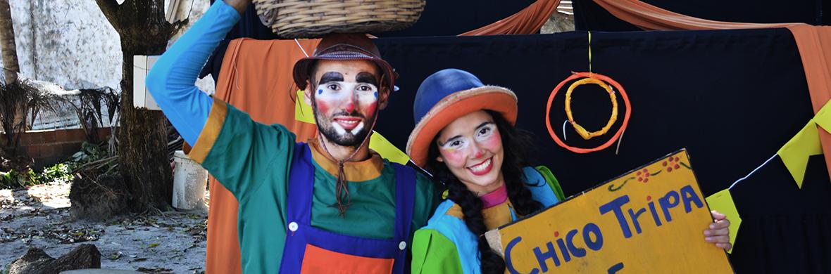 Maria Chiquinha and Chico Tripa in: A circus in balaio - Circus Acts - CircusTalk
