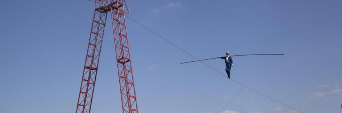 Bullzini Highwire - Circus Acts - CircusTalk