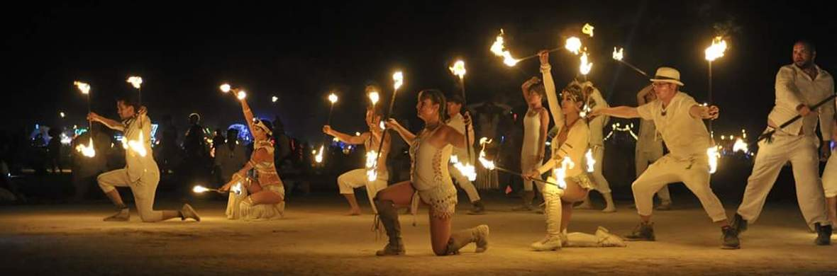 Pyrotex burning man conclave show  - Circus Shows - CircusTalk