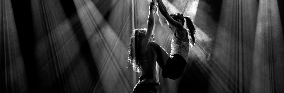 Ayah & Stav Duo Straps - Circus Acts - CircusTalk