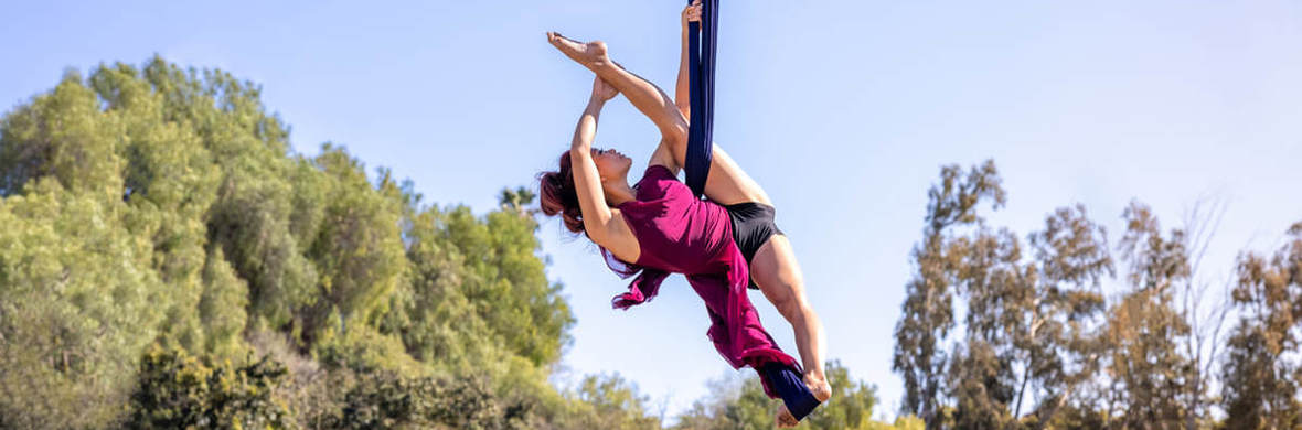 "Solo Aerial Sling-""Secrets"" - Circus Acts - CircusTalk"