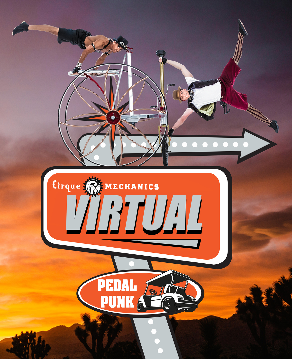 Cirque Mechanics Virtually Pedal Punk - Circus Events - CircusTalk