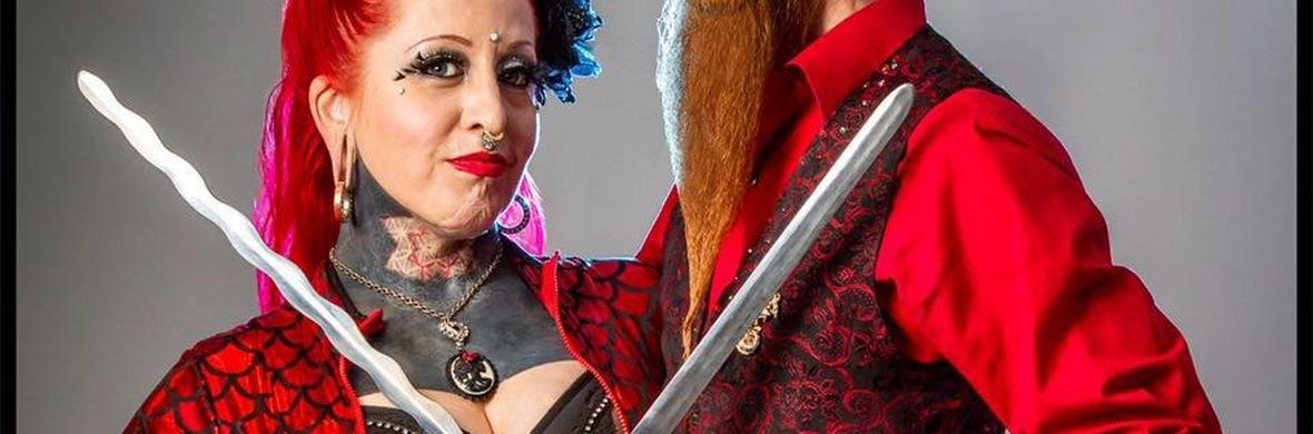 Tandem SwordSwallowing Duo - Circus Acts - CircusTalk