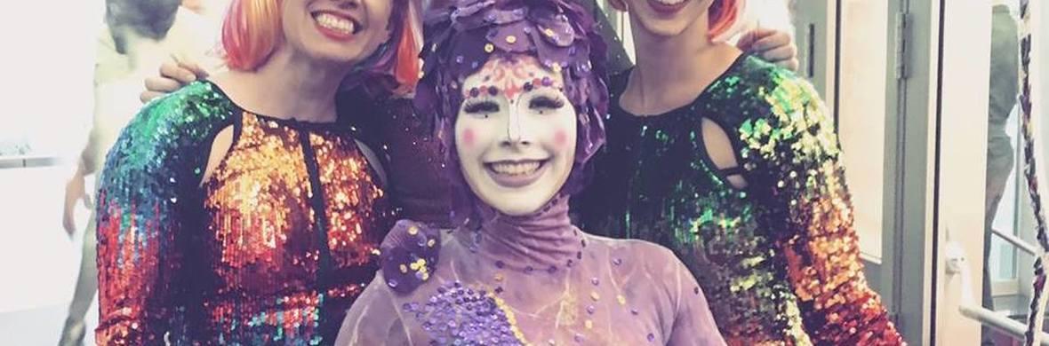 'Kuri' aka 'Happiness the spirit guide' - Circus Acts - CircusTalk