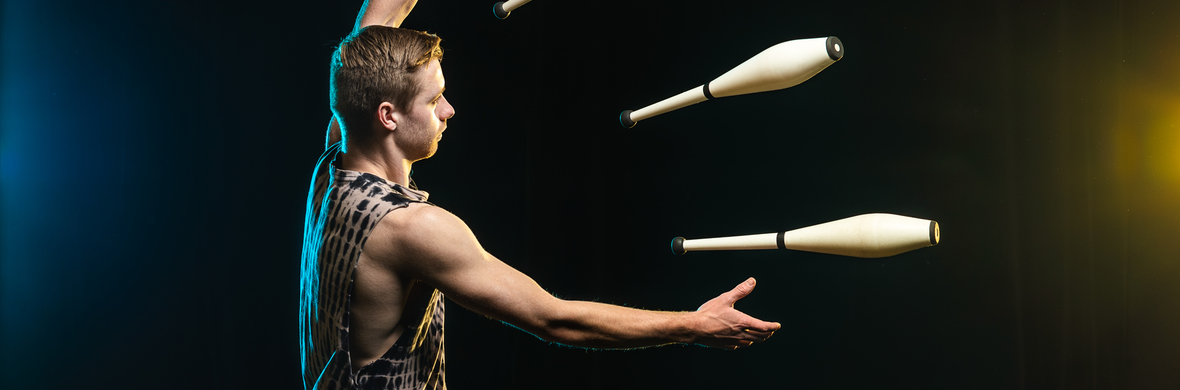 Acrobatic Juggling Act - Circus Acts - CircusTalk