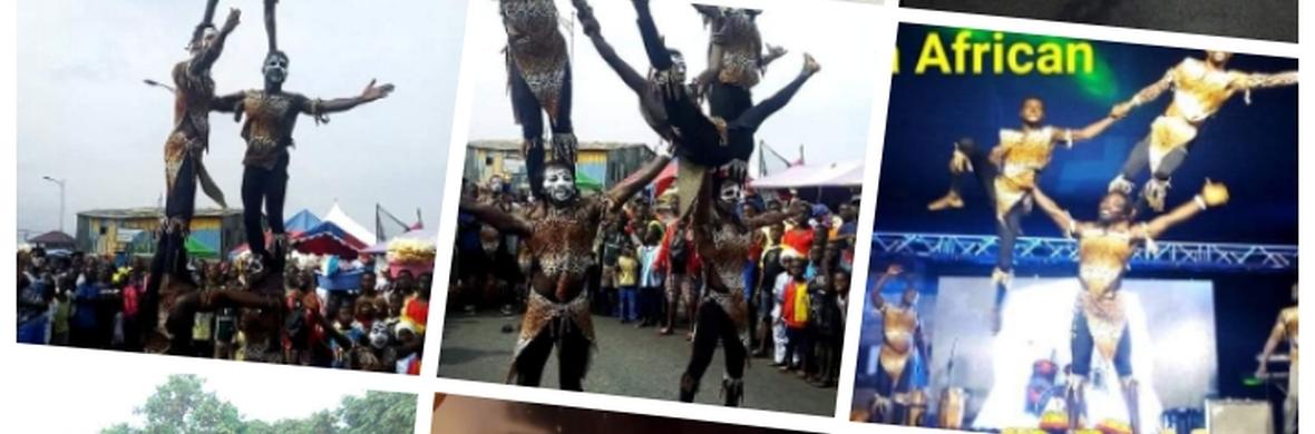 Akwaba African Acrobatics Group Dancers - Circus Shows - CircusTalk