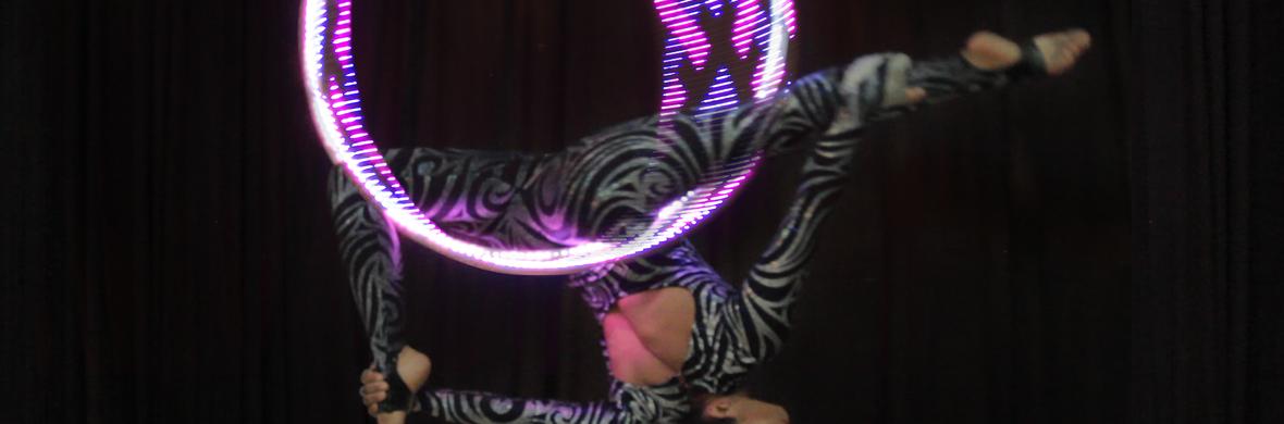LED Aerial Hoop (Lyra) - Circus Acts - CircusTalk
