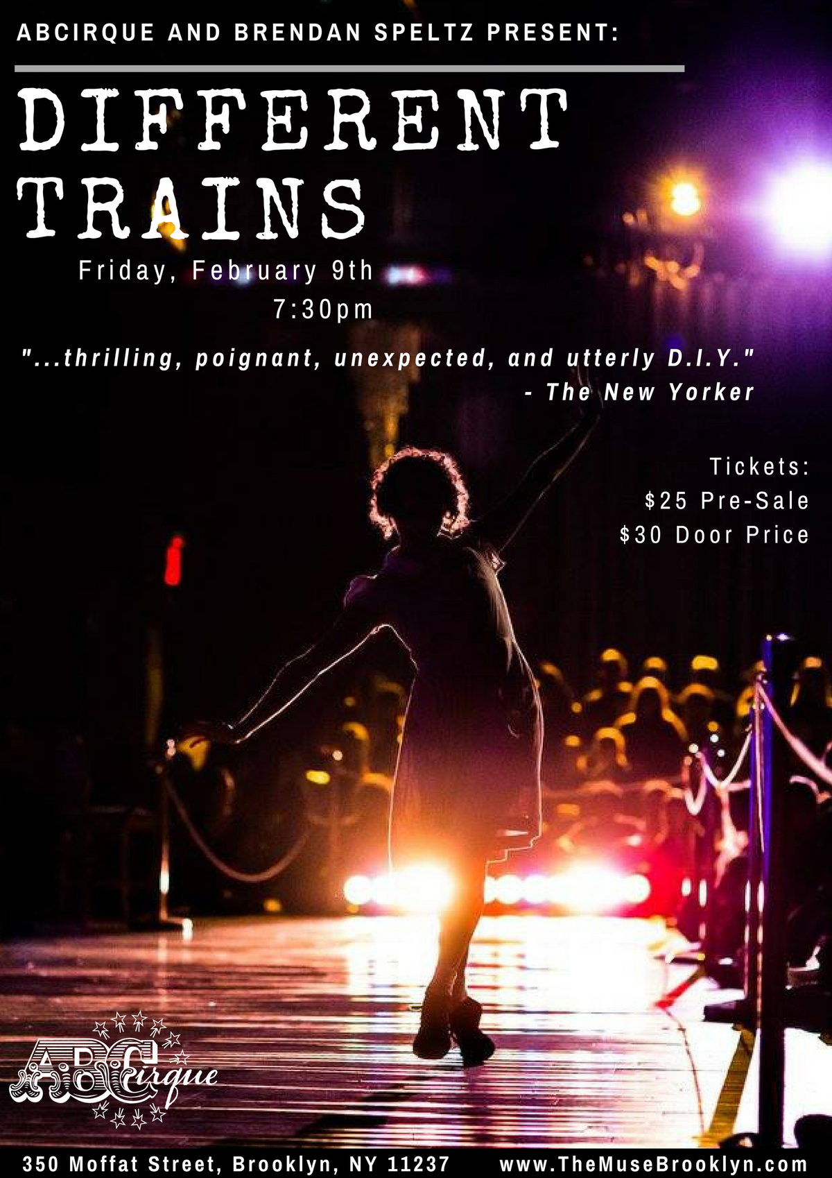 Different Trains - Circus Events - CircusTalk