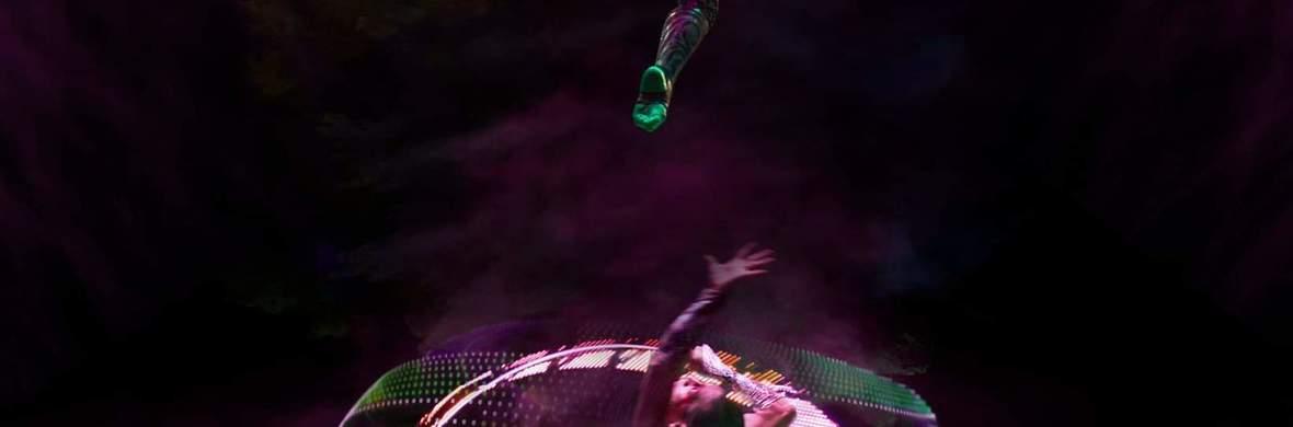 Cyr wheel - Aerial Hoop (lyra) Duo - Circus Acts - CircusTalk