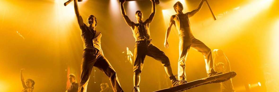 Duo Teeterboard Act IKAI - Circus Acts - CircusTalk