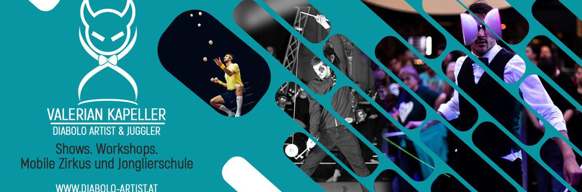 Classy Swing Diabolo Act - Valerian Kapeller - Circus Acts - CircusTalk