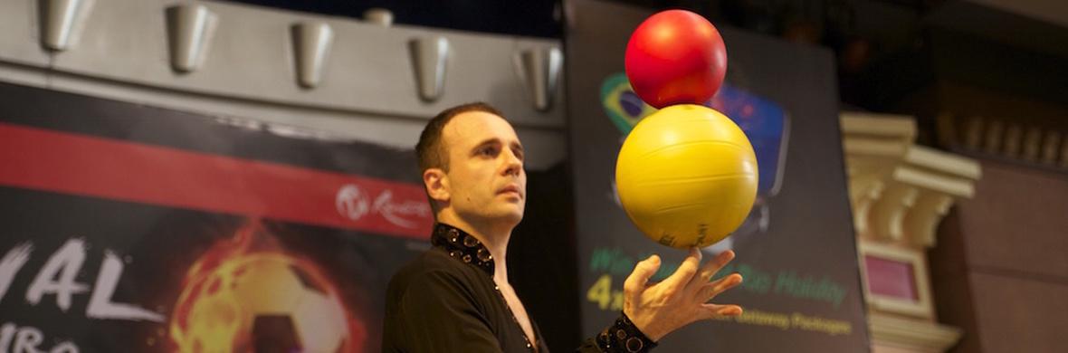 Old  School Juggling - Circus Acts - CircusTalk